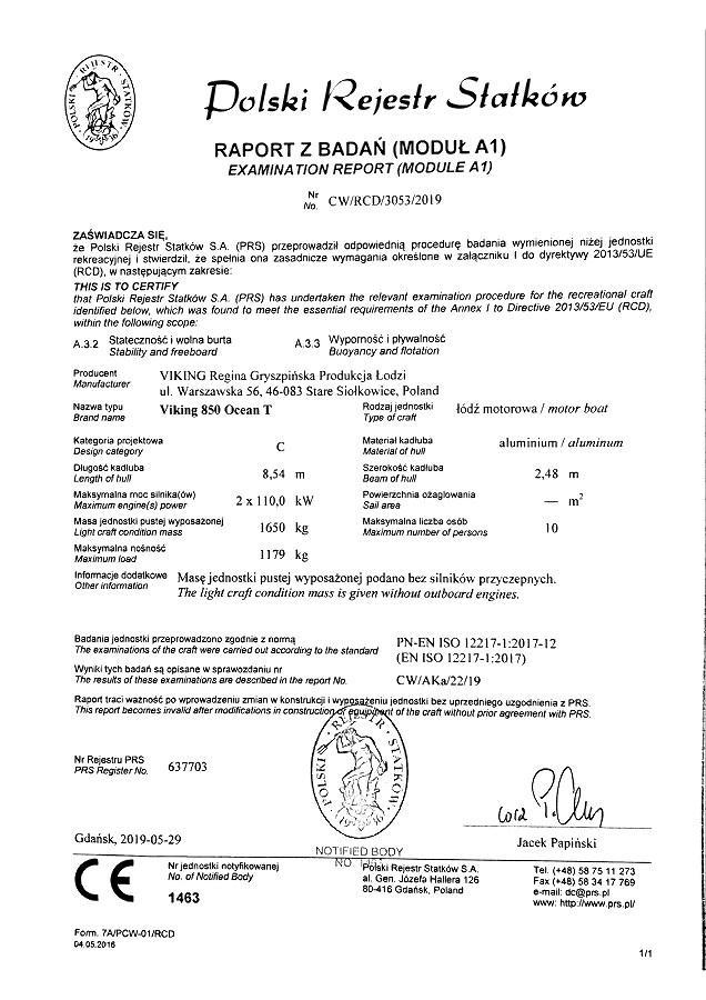 Certyfikat PRS
